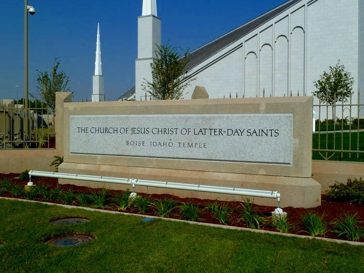 Church Entrance Sign