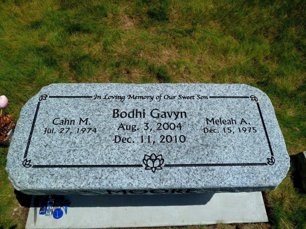 Headstone Bench