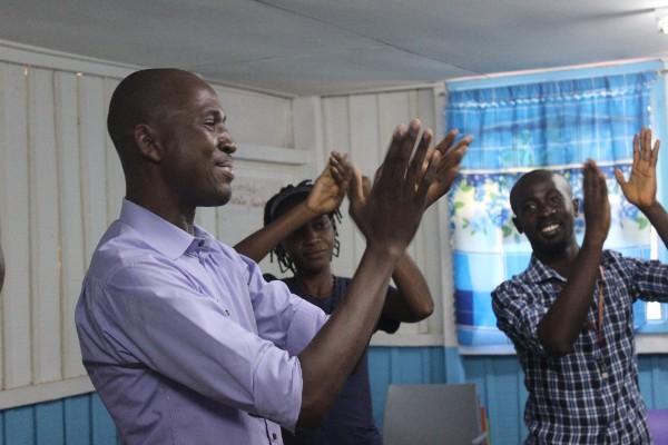 Participants in a Leadership Development Program Plus in Bangolo,Côte d'Ivoire Photo Credit: Brooke Barker/MSH