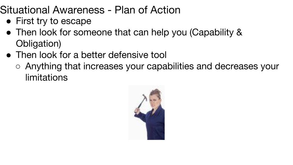 Plan of Action Lesson 3