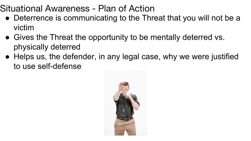 Plan of Action Lesson 4