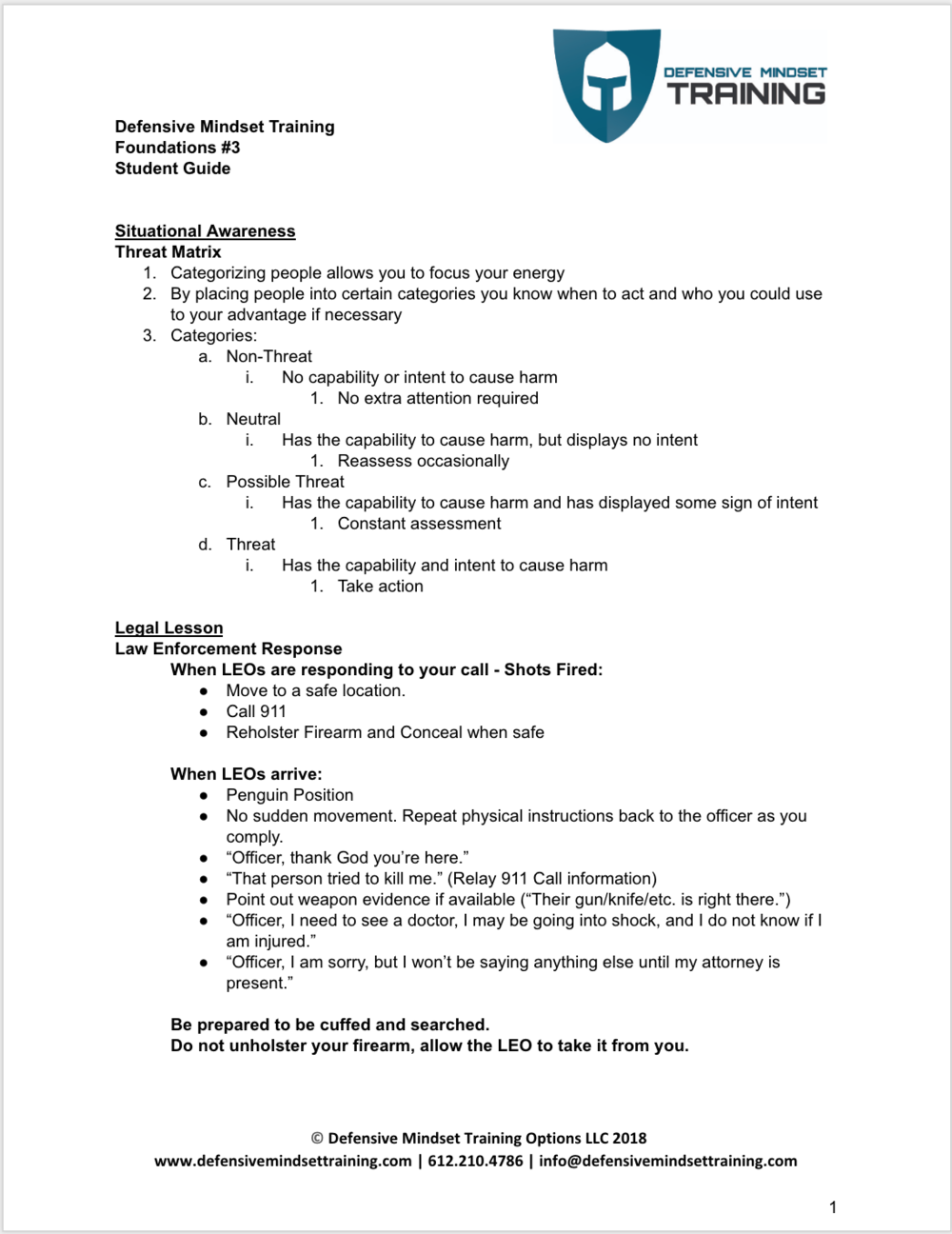 Week 3 Student Guide p 1