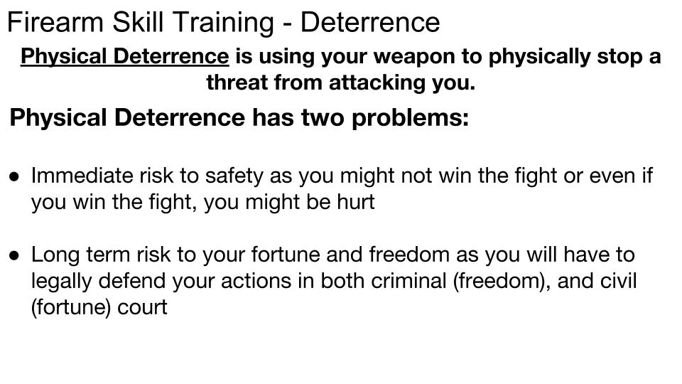Deterrence p 2