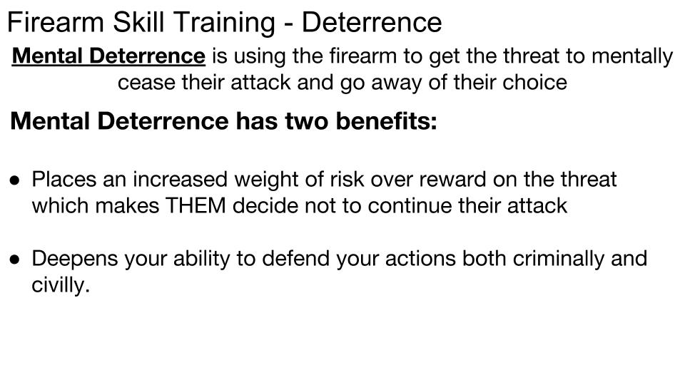 Deterrence p 3