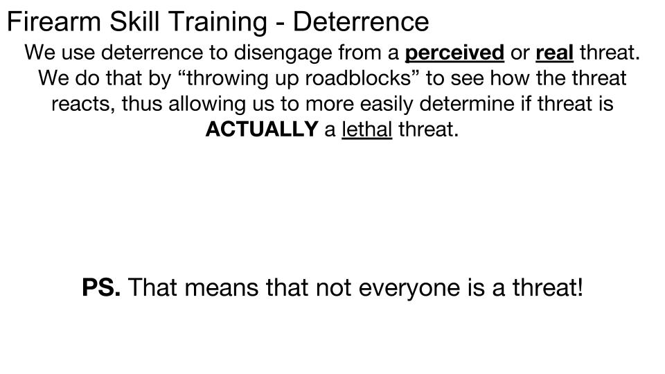 Deterrence p 5