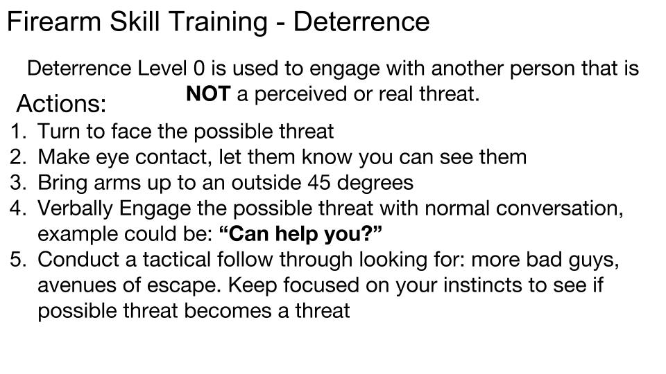 Deterrence p 6
