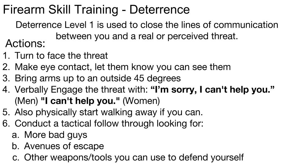 Deterrence p 7
