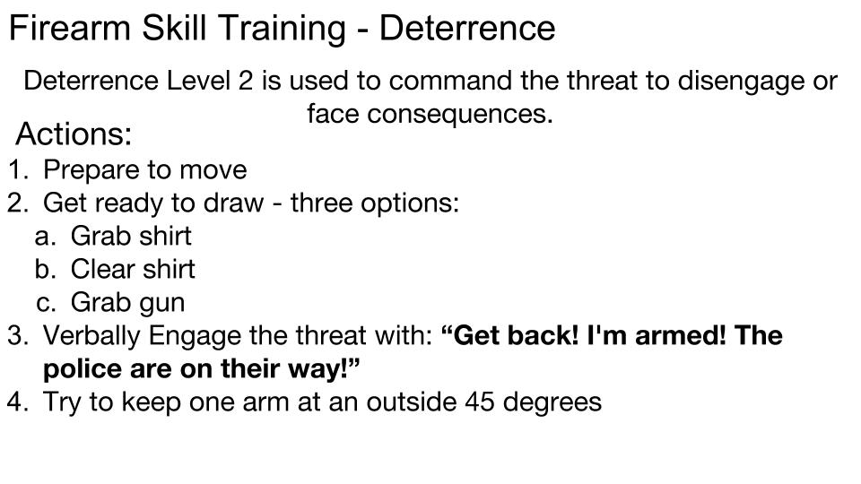 Deterrence p 8
