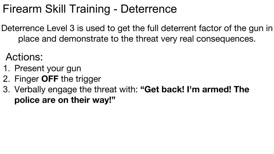 Deterrence 9
