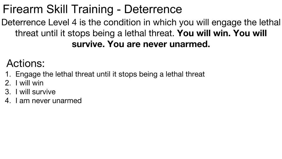 Deterrence p 10