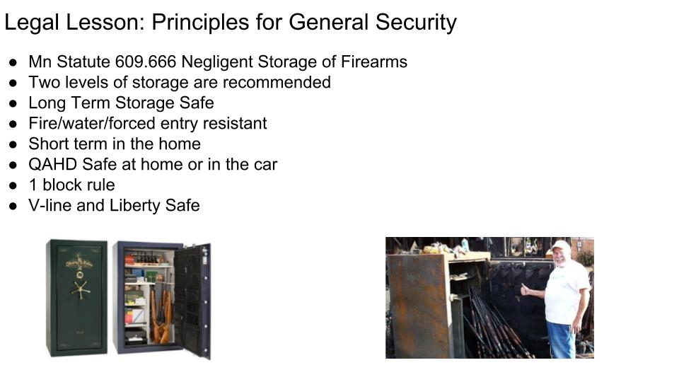 Principles for General Security in the Home