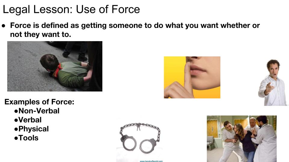 Use of Force p 1