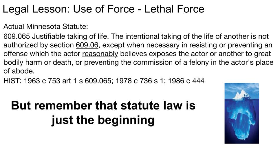 Use of Force p 3
