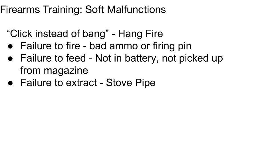 IA Soft Malfunction p 1