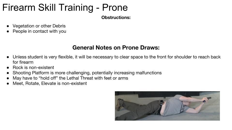 Awkward Draws and Shooting Positions p 7