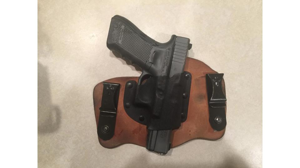Crossbreed Holster Front