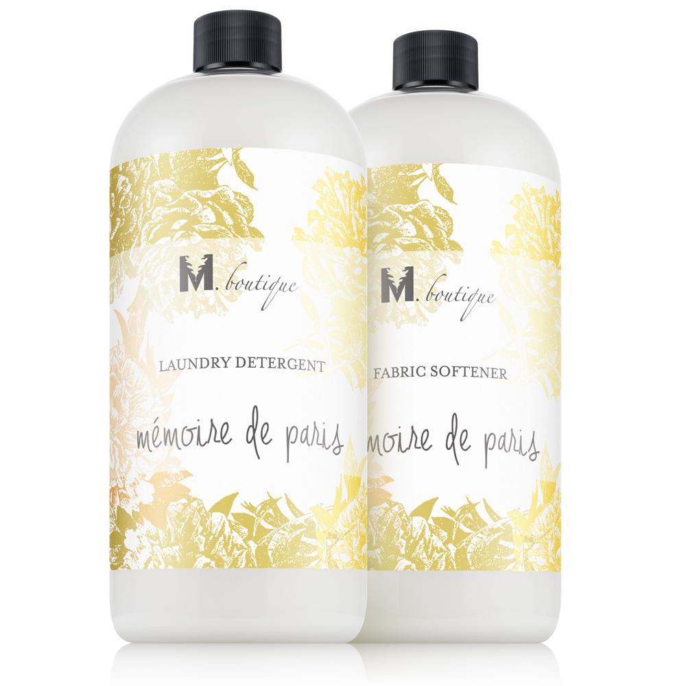 Mémoire de Paris Laundry Detergent & Fabric Softener