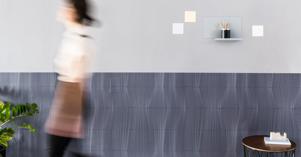 """FORCES"" MAGNETIC WALLCOVERING COLLECTION FOR VISUAL MAGNETICS"