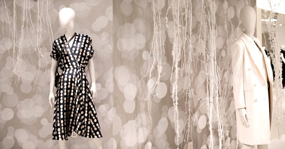 Holiday Display at Bergdorf Goodman New York