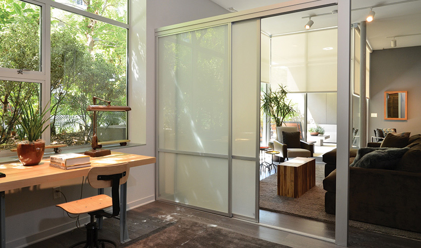 Glass Room Divider