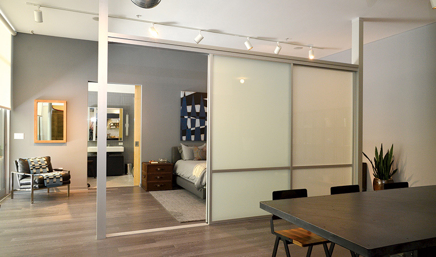 Glass Wall Divider
