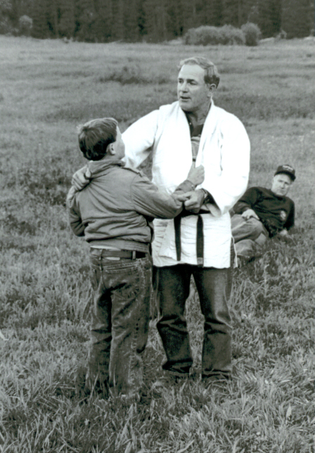 Russ Gibson giving a Judo lesson.jpg