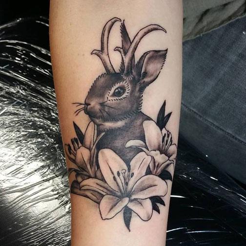 cheech white raven tattoo