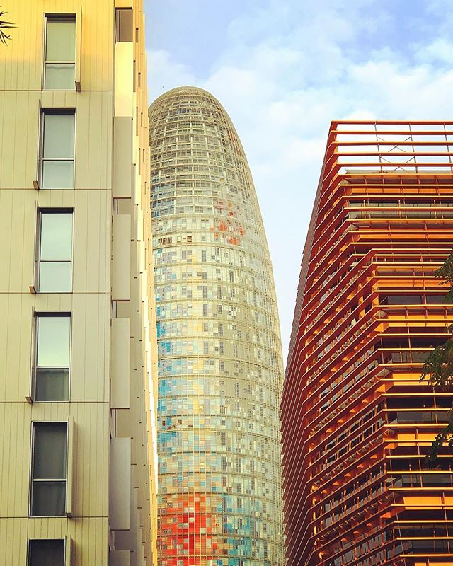 Architecture #balconybcn #design #buildins #barcelona #morning #glorias #streetstyle #streetphotography #bcn