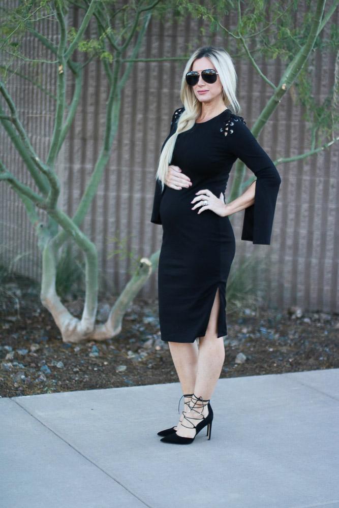 Black Bardot Nordstrom Lace Up Side Slit Dress Live Love Blank The Perfect Little Black Dress