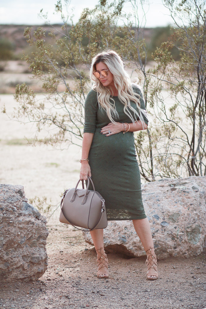 Live Love Blank 2nd Trimester Pregnancy Update Shop Pink Blush Olive Dress