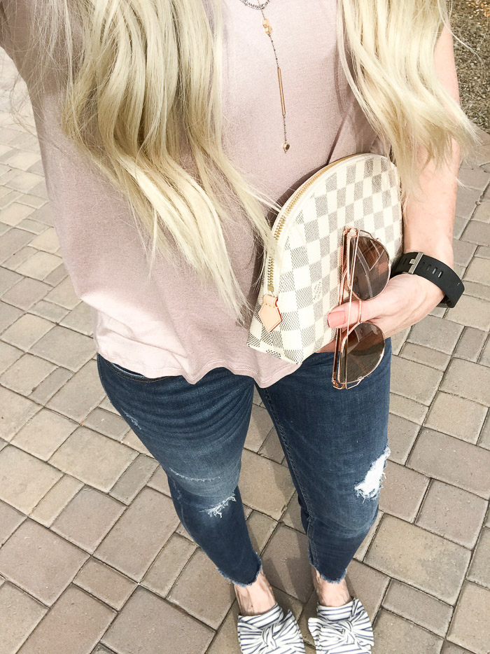 Live Love Blank Instagram Favorites Round Up and Recap June 2017, target sam and libby slides, louis vuitton cosmetic bag