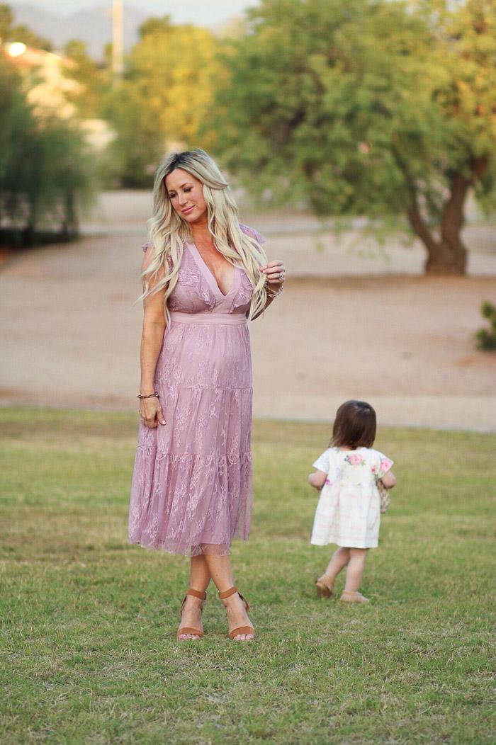 Live Love Blank Instagram Favorites Round Up and Recap June 2017 lavender WAYF lace dress sam edelman wedges beige