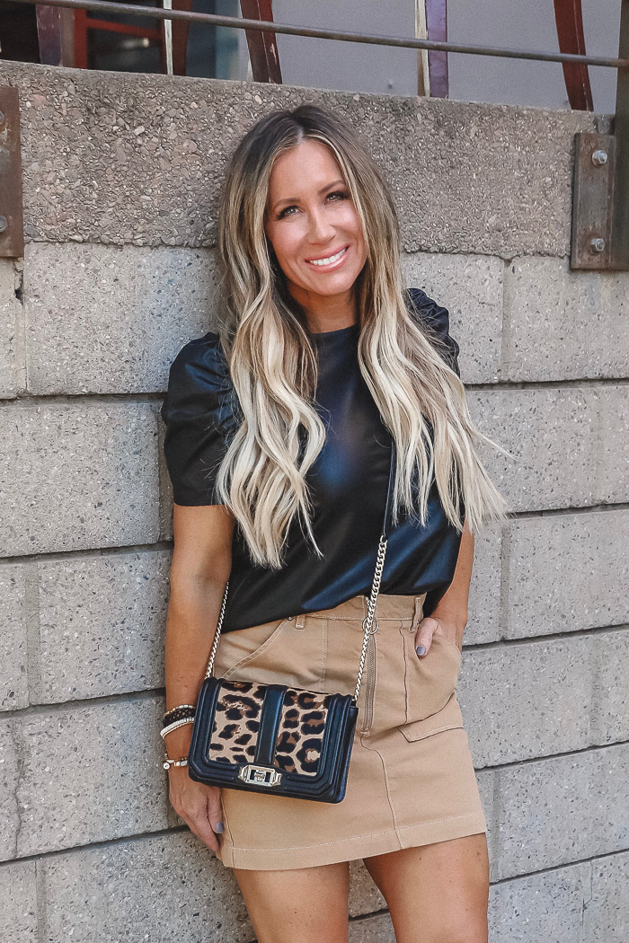 Live Love Blank, Style Blogger, This Year's Hottest Trend in Handbags From NYFW...Leopard. How To Shop eBay.com For This Look For Less, with Kim Blank