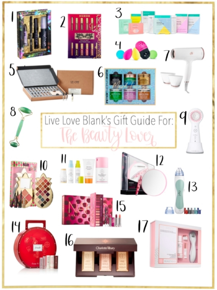 Liveloveblank.com Live Love Blank Fashion, Beauty and Lifestyle Blog, Gift Guide For The Beauty Lover...Holiday 2018