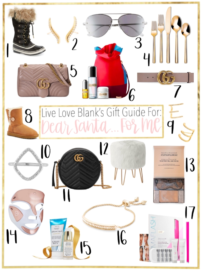 Live Love  Blank liveloveblank.com gift guide for me, wish list