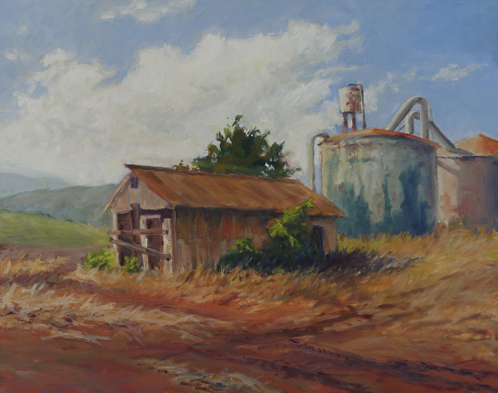 Plantation Shed, 16 x 20 inches