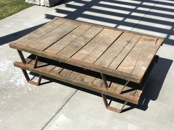 Industrial Pallet Table