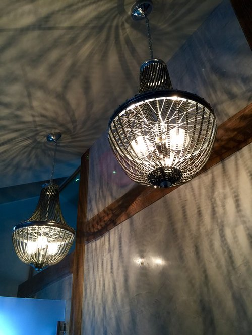 Distressed design industrial chandeliers mozeypictures Image collections