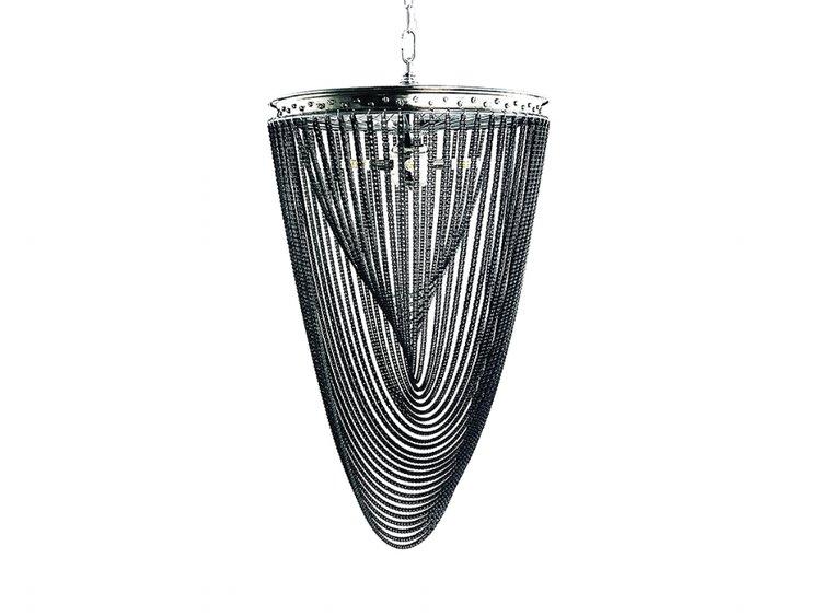Industrial spiral chandelier distressed design industrial spiral chandelier aloadofball Images