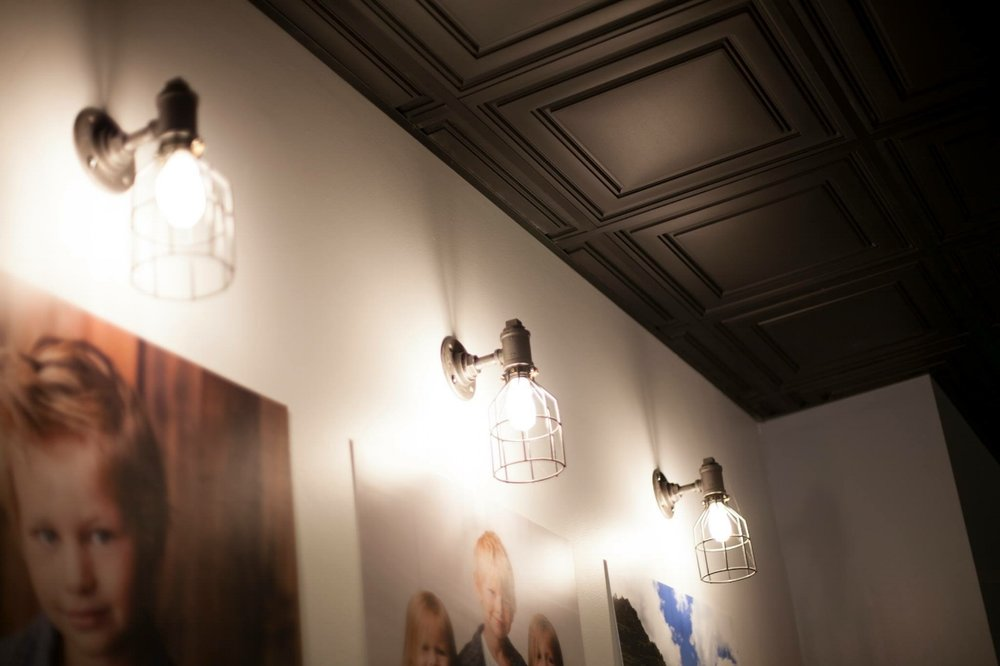 Pipe Sconces | IMD | Bay City, MI