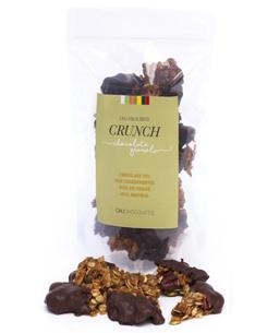 Crunch de Pecan e Aveiã Banhado com chocolate 70% cacau. Snack delicioso para qualquer hora do dia.