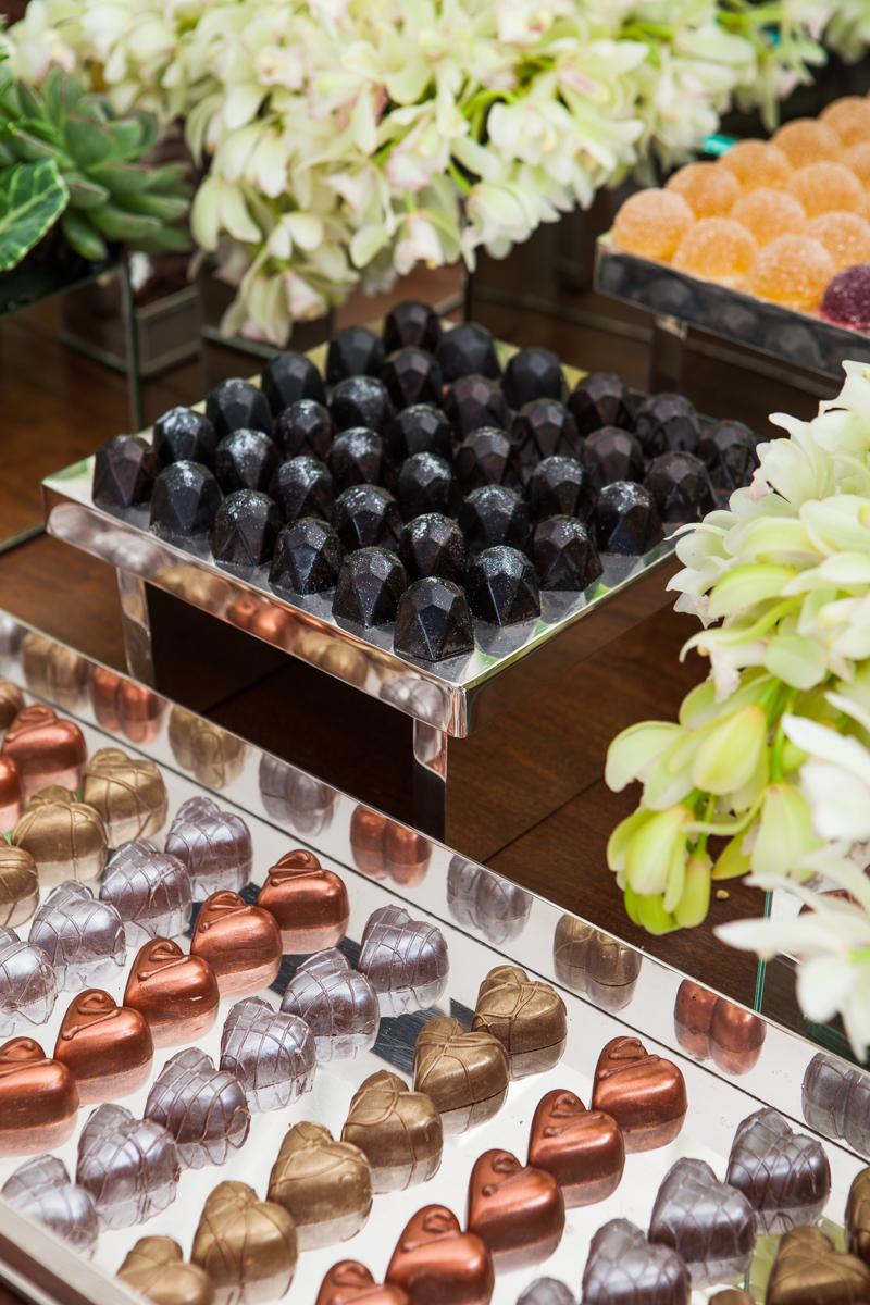 Black Dimond e Corações de Chocolate