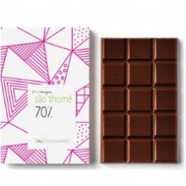 Chocolate Amargo, 70% Cacau origem São Thomé- Africa