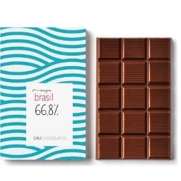 Chocolate Amargo, 66,8% Cacau origem Brasil - marcante e saboroso