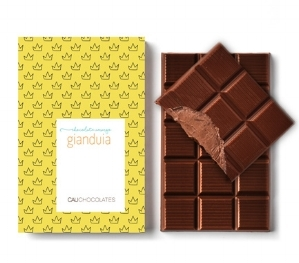 Chocolate ao leite com recheio Gianduia