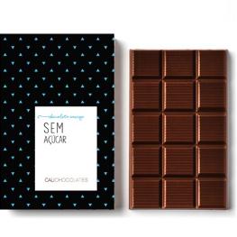 O mais puro chocolate amargo sem açúcar