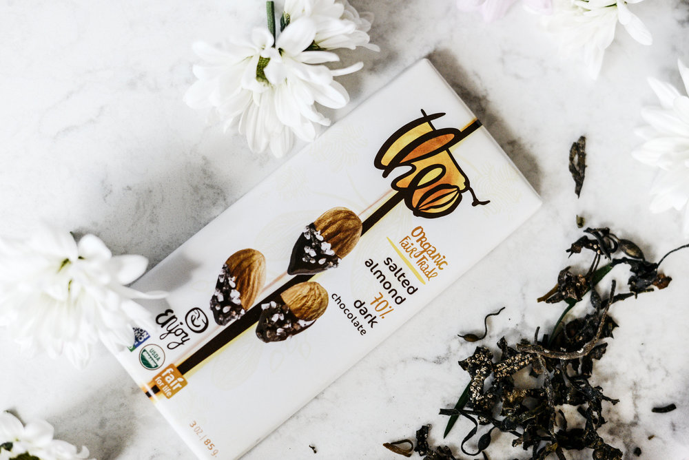 The Taste - Who doesn't love a little chocolate??! Give your mama a taste of love on Mother's Day with this organic treat.