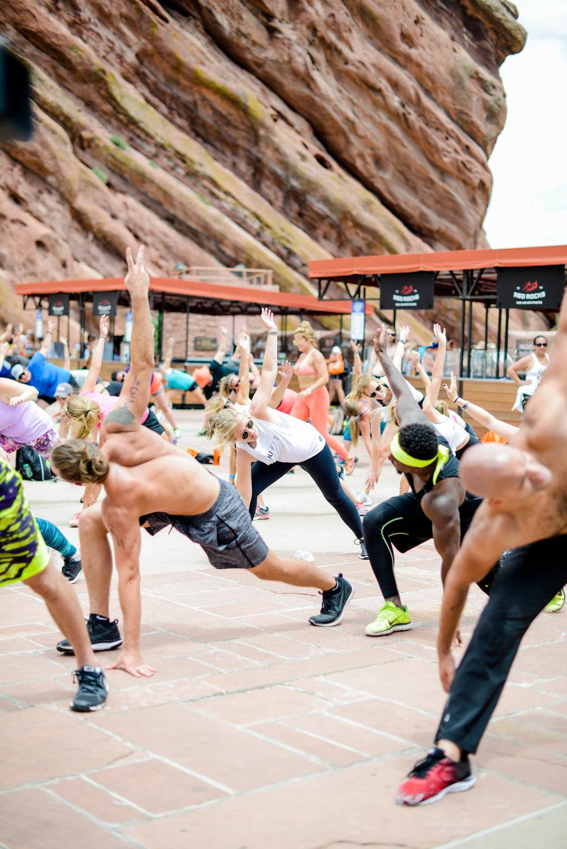 Natalie Uhling Fitness at Fitness on the Rocks