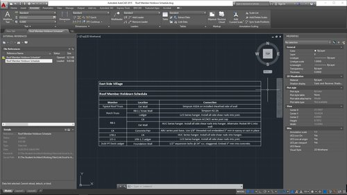 The Student Architect — How to Link Excel Spreadsheets into AutoCAD