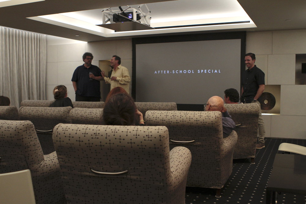 Post screening discussion with Neil LaBute, Victor Slezak, and J.J. Kandel